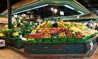 Фруктовые ряды Фермерского рынка