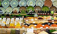 Сухофрукты, орехи и специи на Фермерском рынке